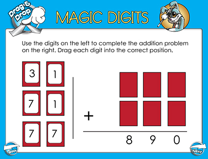 Number Names Worksheets adding three digit numbers with regrouping : Addition SMART Board Lessons