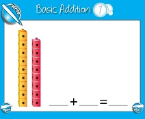 Basic Addition (Sums Up to 20) - Smartboard Lesson