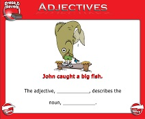 Introduction to Adjectives - Smartboard Lesson