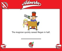 Introduction to Adverbs - Smartboard Lesson