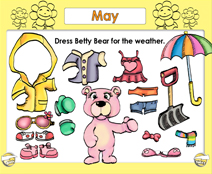 May Calendar (Weather & Morning Meeting) - Smartboard Lesson