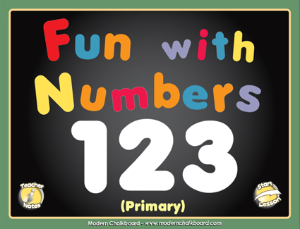 Fun With Numbers - Smartboard Lesson