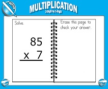 Multiplication: 2-Digit by 1-Digit - Smartboard Lesson
