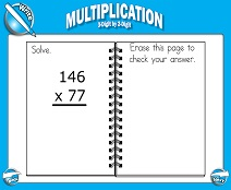 Multiplication: 3-Digit by 2-Digit - Smartboard Lesson