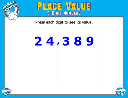 PREVIEW: Place Value: 5-Digit Numbers