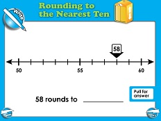 Rounding to the Nearest 10 (Basic) - Smartboard Lesson