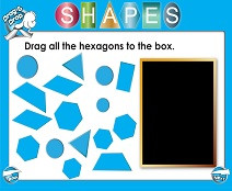 Shapes (Very Basic) - Smartboard Lesson