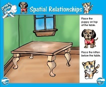 Spatial Relationships - Smartboard Lesson