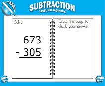 math worksheet : smart board lessons  subtraction : 3 Digit Subtraction With Regrouping Across Zeros Worksheets