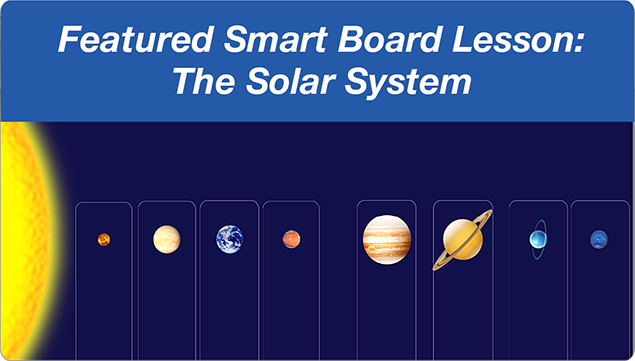 Solar System and other science Smartboard files.