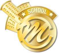 Modern Chalkboard Site License Seal Logo